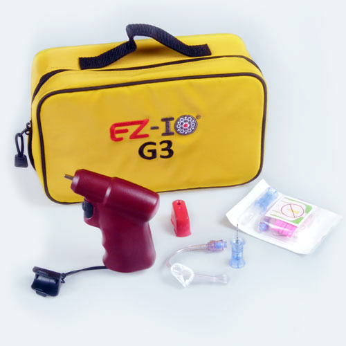 ez io intraosseous infusion system kit meddent safety and supply